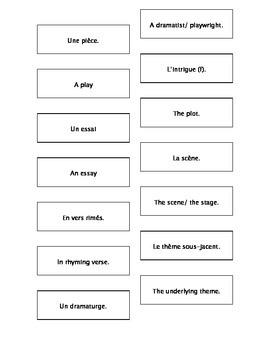 French Teaching Resources. Cyrano De Bergerac. Literary Te