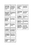 French Teaching Resources. The Subjunctive + Emotions Dominoes.