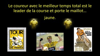 French Teaching Resources. Tour de France. Cycling. Cyclisme.