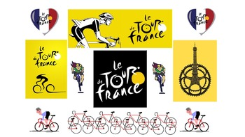 French Teaching Resources. Tour de France. Cycling. Cyclisme.
