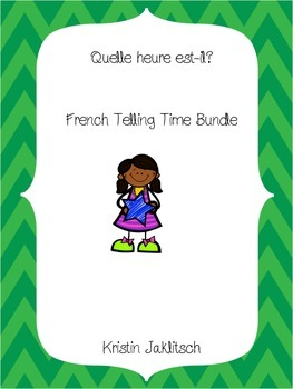 French Telling Time Bundle