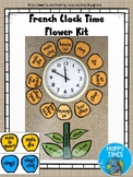 French Telling Time Clock Display Kit