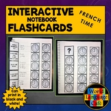 French Time Flashcards, Interactive Notebook, French Telli