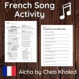 French Tense Identification Song Activity - Aicha