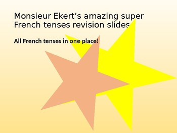 French Tenses review slides