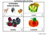 French Thanksgiving 2 Emergent Reader Booklets