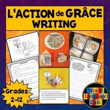 French Thanksgiving Writing Activities