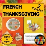 French Thanksgiving Interactive Notebook Craftivities, l'A