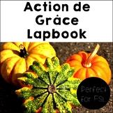 French Thanksgiving – Action de Grâce Lapbook
