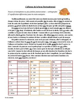 French Thanksgiving Activities