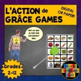 French Thanksgiving Games, Activities, l'Action de grâce