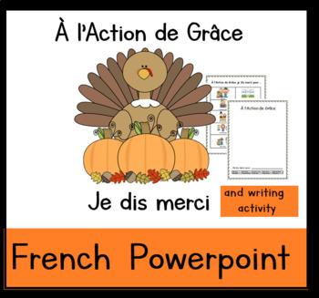French Thanksgiving: Je dis Merci