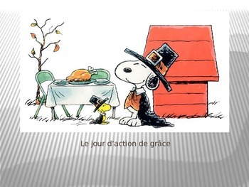 French - Thanksgiving Powerpoint
