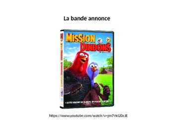 French Thanksgiving Powerpoint: Mission Dindons Screenshot BookTalk