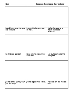 French Thanksgiving Storyboard