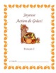 French Thanksgiving Vocabulary Packet