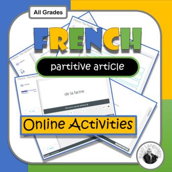 Partitive Articles Activity & Worksheets | Teachers Pay Teachers