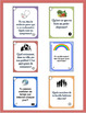 French Themed Vocabulary Speaking Questions - GROWING BUNDLE