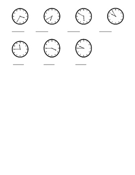 French Time Notes