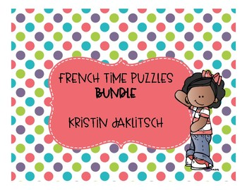French Time Puzzles BUNDLE