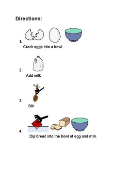French Toast-Visual Recipe