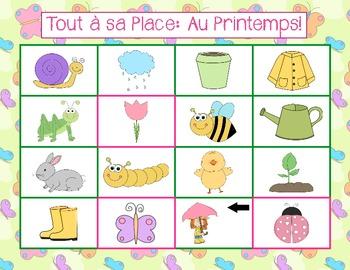 French - Tout à sa Place: Au Printemps