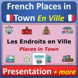 French Town Buildings En Ville La Communauté Presentation