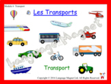 French Transport Presentation, Audio Sheet and Bingo Game