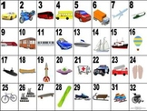 French Transportation-Les Transports Vocabulary Teaching Posters