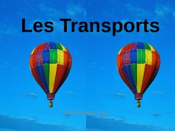 French Transportation- Les Transports Vocabulary Teaching