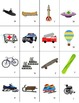 French Transportation-Transports Vocabulary Mini Student Cards & Fun Activities