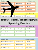 French / German  Boarding pass Speaking Practice