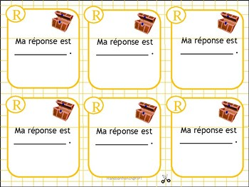 French Treasure Box Fun/ Asking Questions/ French Conversation