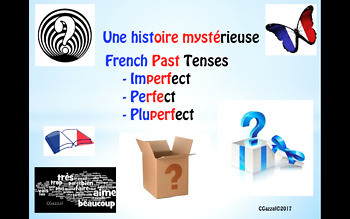 French - Une histoire mystérieuse – imperfect, perfect and pluperfect tenses.
