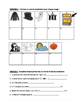 French 1 - Weather and Seasons unit with powerpoints, handouts, quizzes, test