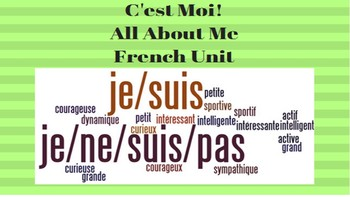 French Unit- All About Me