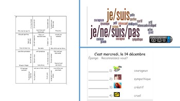 French 1 Unit- All About Me
