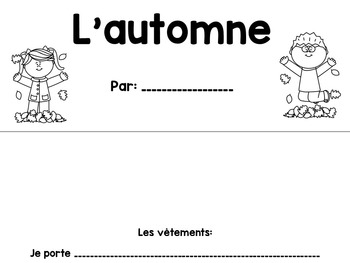 French Unit - Daily and Seasonal Changes