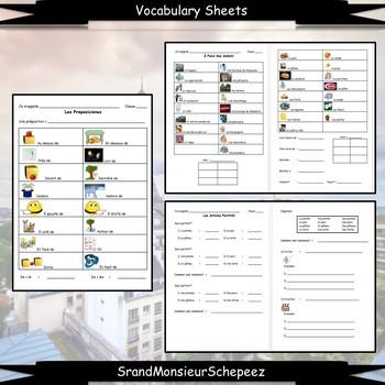 French 1 Unit- Places, Prepositions, Partitives, Aller + inf, & Vouloir