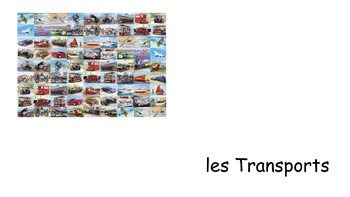 French 1 Unit- Transportation