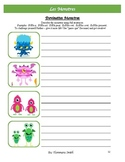 MONSTERS French Unit~ Adjectives, Avoir, Etre, Writing, Sp