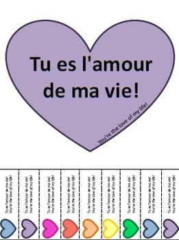 French Valentine Posters