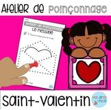 French Valentine Push pin art / Atelier poinçonnage {St-Valentin}