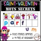 French Valentine Secret Words / Mots secrets de la Saint-Valentin - Son initial