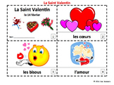 French Valentine's Day 2 Emergent Reader Booklets