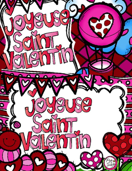 French Valentine's Day Cards ♥ Tags