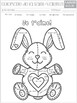 French Valentine's Day  Color by NUMBER (0 to 20) - La Saint Valentin Coloriage