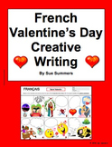French Valentine's Day Creative Writing Speech Bubble Activity