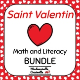 French Valentine's Day Literacy and Math BUNDLE Jour de Sa