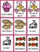 French Valentine's Day Matching Game - un jeu des paires